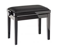 K&M 13911 schwarz Klavierbank
