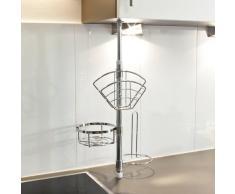 klemmregal g nstige klemmregale bei livingo kaufen. Black Bedroom Furniture Sets. Home Design Ideas