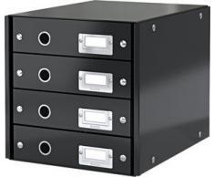 LEITZ Schubladenset Click & Store,6049-00-95, schwarz,251x59x330mm,1.500g/qm
