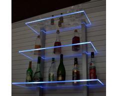 Design Bar Regal LED Ideal Flaschen Und Glser
