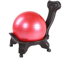 YONGYONGCHONG Sessel Office-Produkte Computer Stuhl- Klassische Balance Ball Chair - Übung Stabilität Yoga-Kugel Premium-Ergonomischer Stuhl Büro-Schreibtisch Hocker Stuhl
