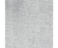 InterDesign Aldo Hängeaufbewahrung für über die Tür oder Wand, Türgarderobe mit 4 Fächern aus Polypropylen, grau