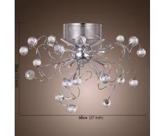 Vingo Led Kronleuchter Modern Deckenleuchte Kristall ~ Kronleuchter wohnzimmer » günstige kronleuchter wohnzimmer bei
