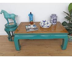 Tisch Couchtisch Sofatisch Opium Massivholz 120x50x70 DJ1701