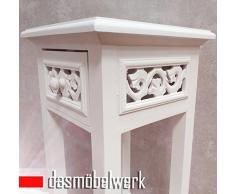 dasmöbelwerk Telefontisch Rosali Beistelltisch Konsole Nachttisch antik weiß Retro Design Landhaus 01.002.01