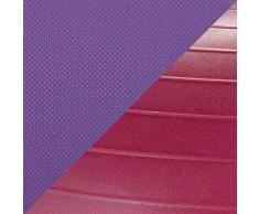gaiam Kinder Balance Ball Chair - Classic Kinder Stabilität Ball Chair, Kind Klassenzimmer Schreibtisch Platz, 05-62240, violett/pink