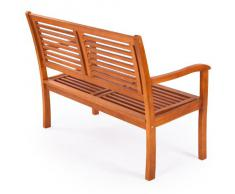 Ultranatura Gartenbank 2-Sitzer, Canberra Serie - Edles & Hochwertiges Eukalyptusholz FSC zertifiziert - 120 cm x 56 cm x 91 cm