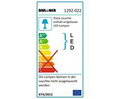 Briloner Leuchten 1292-022 A+, Stehlampe, dimmbar, Stehleuchte, Wohnzimmerlampe, Deckenfluter, Standleuchte, LED Fluter, Standlicht, Wohnzimmerleuchte, Leseleuchte, LED Standleuchte, schwenkbar