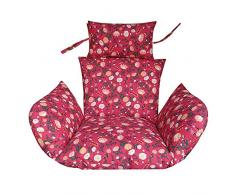 JRG Sofa-schaukel Stuhl Sitz Matte Abnehmbare Schaukelstuhl Kissen Ashable Wiege Peddigrohr Stuhl Kissen Pad Anti-rutsch-Stuhl Kissen Adult Indoor Balkon Hängenden-D