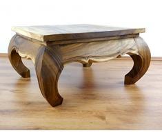 Großer Opiumtisch, Couchtisch aus Massivholz, Sofatisch der Marke Asia Wohnstudio, asiatische Möbel, (Handarbeit)