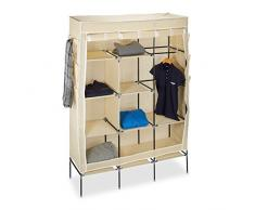 relaxdays stoffregale bei livingo online kaufen. Black Bedroom Furniture Sets. Home Design Ideas