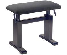 Stagg 25020050 Hydraulische Klavierbank matt schwarz