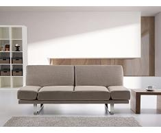 Sofa Beige - Schlafsofa - Couch - Bettsofa - Funktionssofa - Klappsofa - YORK