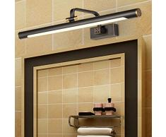 Badezimmerlampe Feuchtigkeitsdichte Und Anti-Beschlag Schlafzimmerspiegel Schrankbeleuchtung - Einfache Make-Up-Wandleuchte Wandleuchte Spiegelleuchte Bild-Front-Lampe