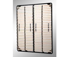 i-flair® - Lattenrost 140x200 cm, Lattenrahmen - für alle Matratzen geeignet