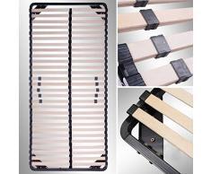 i-flair® Lattenrost 100x200 cm, Lattenrahmen - für alle Matratzen geeignet - alle Größen