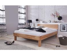 SAM® Massivholz Kernbuche Bett Elisa 140 x 200 cm, in Natur, geöltes Buchenbett, naturfarbenes Holzbett in zeitlosem Design für Ihr Schlafzimmer