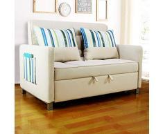 FGDFGDFEEGVD Das Doppelschlafsofa aus Baumwolle für Erwachsene kann im Büro des Wohnzimmers und Schlafzimmers zur einfachen Reinigung gedrückt und gezogen Werden