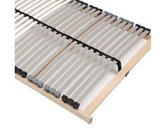Lattenrost unverstellbar aus Birke Schichtholz Made in Germany Breite 90 cm Liegefläche 90x200 Belastbar bis mindestens 120 KG Pharao24