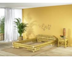 Bambusbett MALI Bett aus Bambus 160x200cm (ohne Lattenrostauflage)