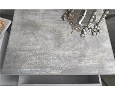Livitat LV1018 Kommode, Holz, weiß, 28 x 38 x 83.0 cm