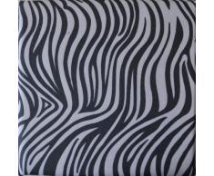 Wäschehocker Dekorativ und Praktisch, Größe:38x38x38;Design:Zebra