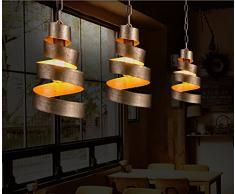 Retro Industrie Stil Eisen Pendelleuchte Kreative Persönlichkeit Ländlichen  Hängelampe Passend Wohnzimmer Schlafzimmer Restaurant Hote Korridor Loft