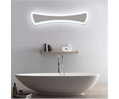 Creative-Acryl-LED Spiegelleuchten Hotelzimmer vor dem Kabinett Licht Badezimmer Badezimmerspiegel Licht Schlafzimmerspiegel ( Color : White Light-40cm/15W )