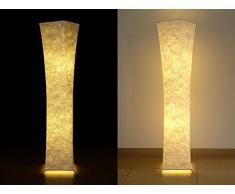 Stehleuchten LED Beleuchtung Stehlampe   ZHJABO SF210 (2017 Neu Design)  Deckenleuchten Deckenlampe 132cm Aus