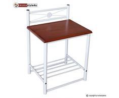 Nachttisch Weiß Metall ~ Nachttisch metall günstige nachttische metall bei livingo kaufen