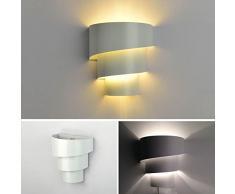Baytter 5W E27 LED Wandleuchte Effektlampe Wandlampe Schlafzimmer Fluter Innenlampe Flurlampe Nachtlampe weiß