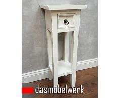 dasmöbelwerk Telefontisch Beistelltisch Konsolentisch Nachttisch antik weiß shabby Landhaus 120647
