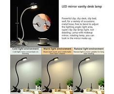 Berührungssteuerung Dimmbar Augepflege B Schreibtischlampe LED Klemmleuchte 4W
