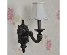 Der Ehemalige Amerikanische Land Schmiedeeisernem Bett Schlafzimmerspiegel LED-Wand Salon Vintage-Wandleuchte Gang 11in * 6in * 15in,10in*5in*13in