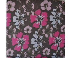 Wäschehocker Dekorativ und Praktisch, Größe:38x38x38;Design:Blume