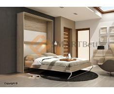 wandklappbett g nstige wandklappbetten bei livingo kaufen. Black Bedroom Furniture Sets. Home Design Ideas