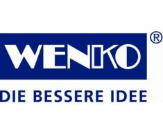 WENKO 4380440100 Unterbettkommode Comfort, Kunststoff - PEVA, 105 x 15 x 45 cm, Blau