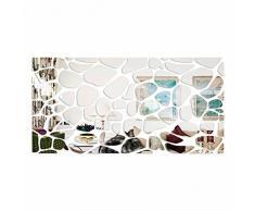 Großer Wandspiegel Acryl Decor Rocks 140 x 70 cm, unzerbrechlich, Wohnzimmer, Schlafzimmer, Spiegel außergewöhnliche