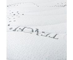 Baldiflex Naturlatex-Matratze mit abnehmbarem Bezug, milbendicht, atmungsaktiv, Cus. Seife aus Memory Incl, Höhe 22 cm