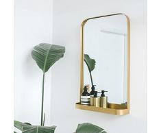 Spiegel Europäischer Moderner unbedeutender Hängender Wand, Schlafzimmerspiegel, Badezimmerbadezimmerspiegel