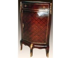 LouisXV Eckkommode Kommode echt vergoldet MoGo0719 antik Stil Massivholz. Replizierte Antiquitäten Buche Antikmessing.
