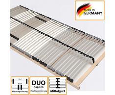 Lattenrost unverstellbar aus Birke Schichtholz Made in Germany Breite 140 cm Liegefläche 140x200 Belastbar bis mindestens 150 KG Pharao24