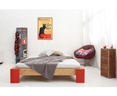 OSAKA Bambusbett ohne Rückenlehne 120x200cm, Höhe 30cm