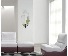 Großer Wandspiegel Acryl unzerbrechlich Glamour 65 x 30 cm, Schlafzimmer, Wohnzimmer, außergewöhnliche