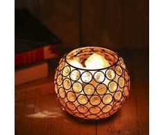 Nachttischlampe Salzlampe, Tomshine 15W Warmweiß Himalaya Salzlampe Dimmbar Nachtlicht Kristall Tischlampe für Wohnzimmer Schlafzimmer