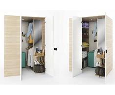 kleiderschrank creme bei ausw hlen. Black Bedroom Furniture Sets. Home Design Ideas