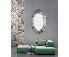 Maoxin home Venezianische Spiegel, Elegante Wandspiegel, Schlafzimmerspiegel, 80 x 119 cm