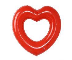 nobrand KXDSM Aufblasbare Schwimm Ring Pool Float Riesenmatratze for Wasser-Spaß-Spielzeug (Color : Red)