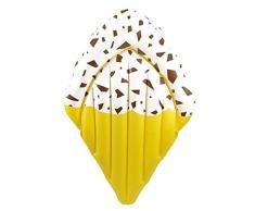 Matratze Liegematratze Luftmatratze - Eistüte - Ice Cream - Eis - ca. 180 cm ein toller Badespass / verschiedene Farben - Nur für Schwimmer! Kein Schutz gegen Ertrinken! / große Luftmatratze / bunte Luftmatratze / robuste Luftmatratze