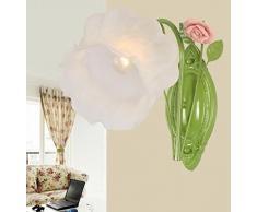 HOME UK-Blumen und Gartenbeleuchtung leuchtet Eisen Wandleuchte Wohnzimmer Restaurant Schlafzimmerspiegel Frontlampe Nachttischlampe